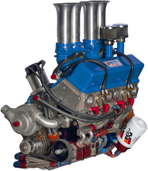 Think, what 4cylinder midget engine really